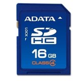 Secure Digital Card SDHC 16GB class4 ADATA